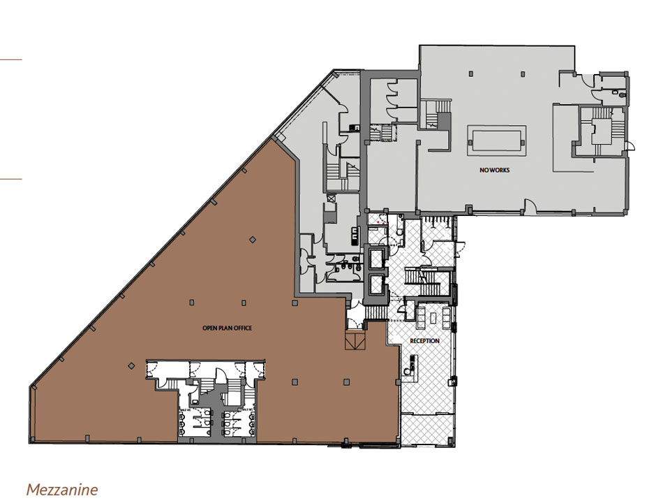 Mezzanine floor plan house good mosaic real estate with for House plans with mezzanine floor